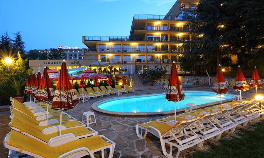 Hotel Gradina 3*, Золотые пески, Болгария