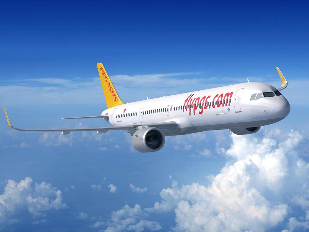Літак турецької авіакомпанії Pegasus Airlines