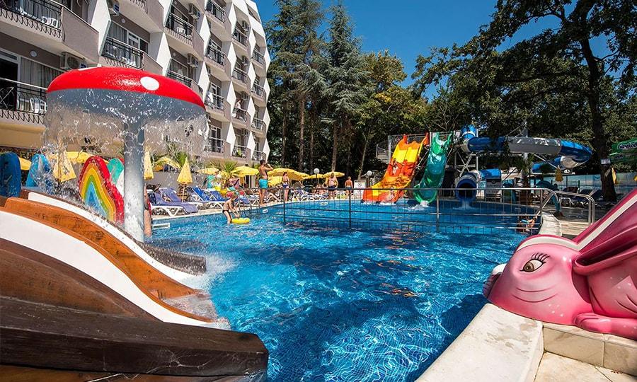 Prestige Deluxe Aquapark Club 4*, Золотые Пески, Болгария