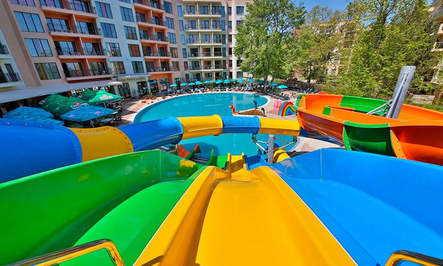 Prestige Hotel & Aqua Park 3*, Золотые Пески, Болгария