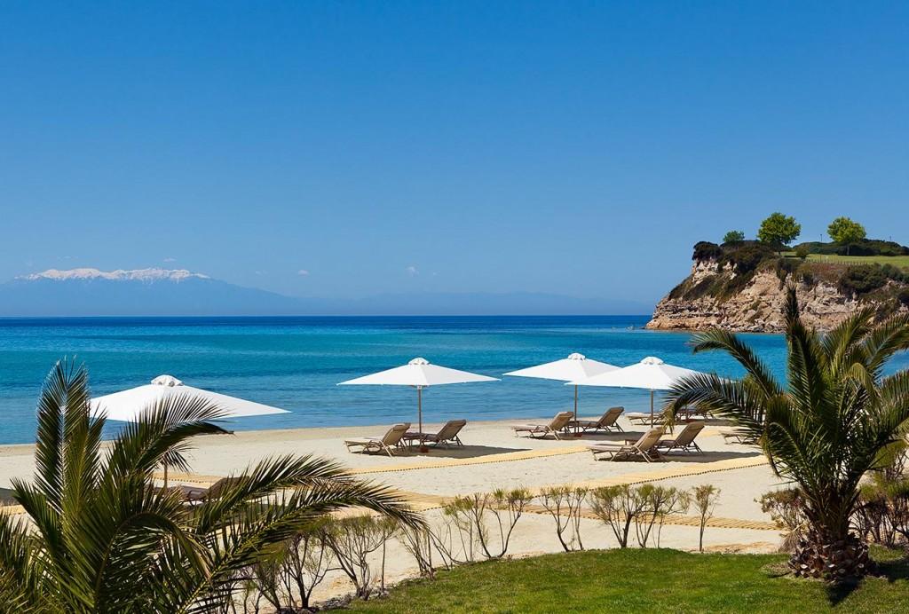Пляж отеля Sani Asterias на Халкидиках