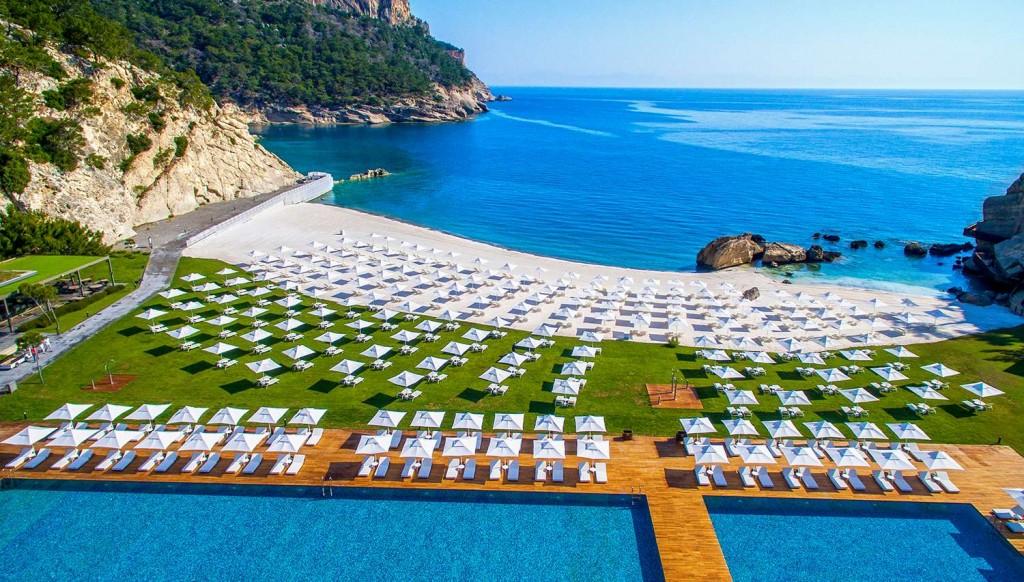Пляж отеля MAXX Royal Kiris