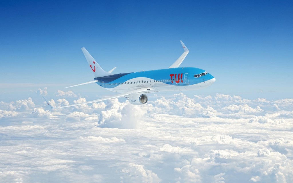 Самолет немецкой авиакомпании TUI Fly