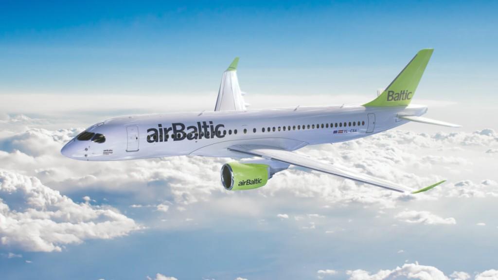 Новые самолеты A220-300 авиакомпании airBaltic