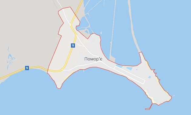 Карта Поморие, Болгария