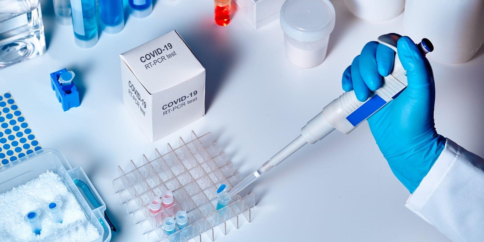 Тест на отсутствие коронавируса