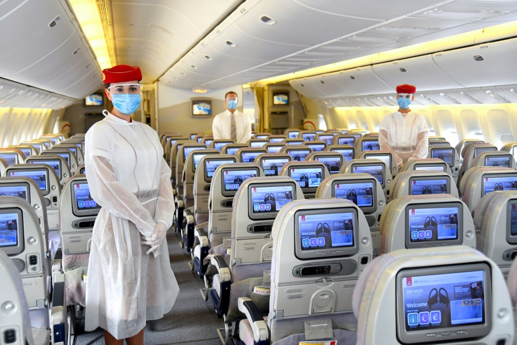 Новые меры безопасности на борту Emirates