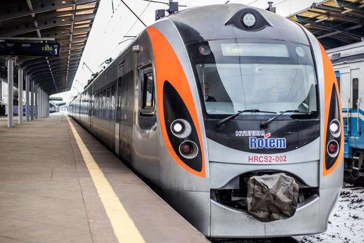 Поезд Intercity Plus