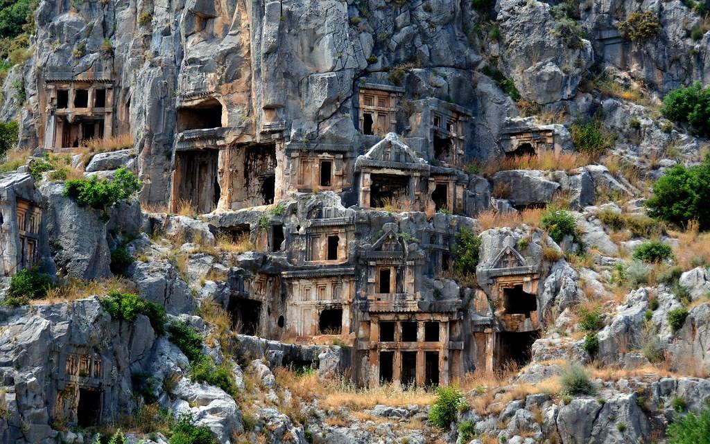 Древний ликийский город Мира