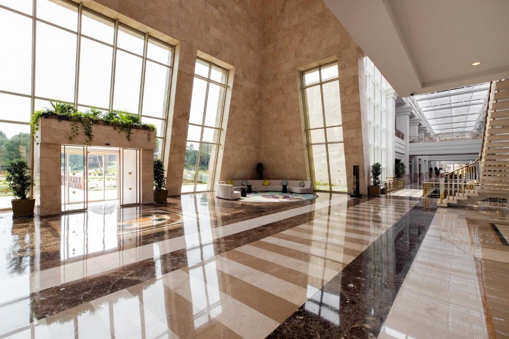 Общественные зоны в отеле Rixos Premium Belek