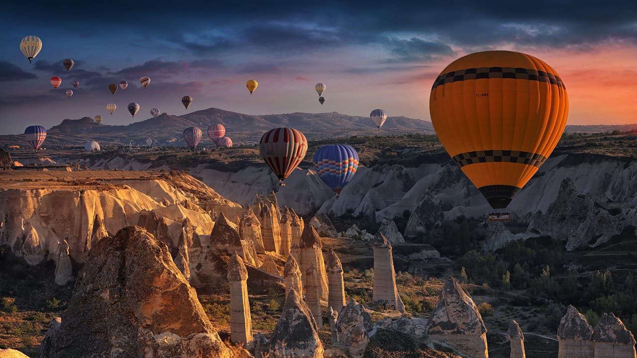 tury v kapadokyu - Турция