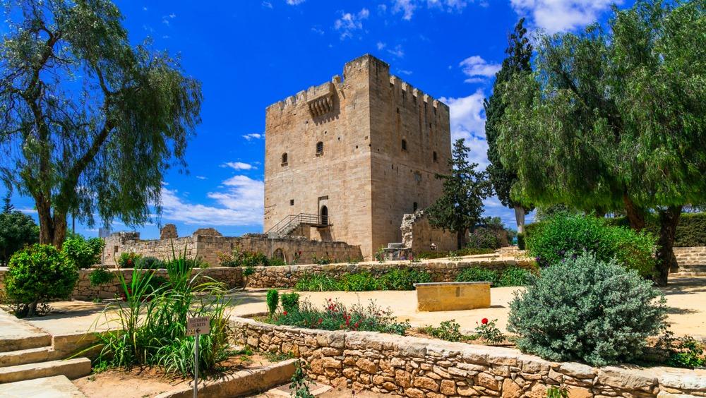 Замок Колосси рядом с Лимасолом