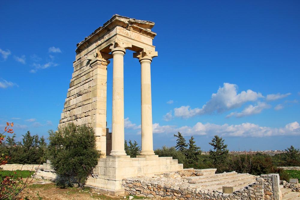 Античный город Курион около Лимасола