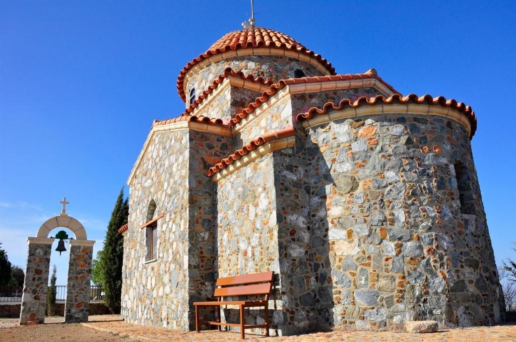 Монастырь Ставровуни около Ларнаки