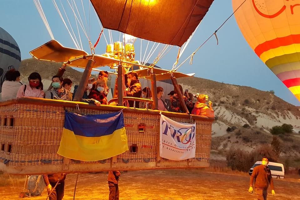 Воздушные шары снова в небе над Каппадокией