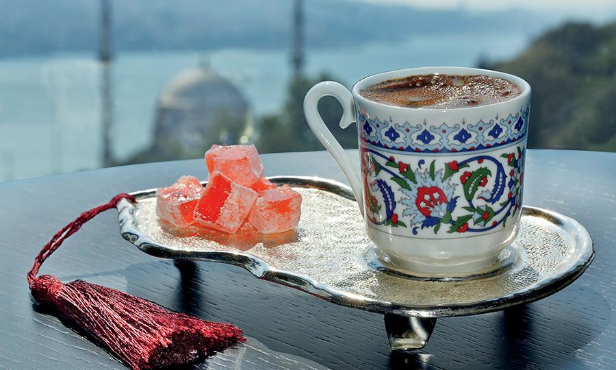 Кофе в Стамбуле