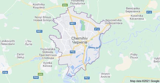 Турфирмы Чернигова