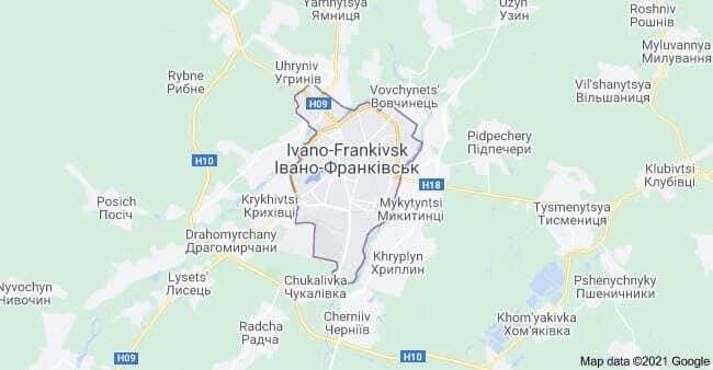 Турфирмы Ивано-Франковска