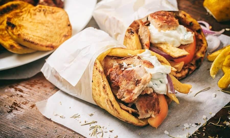 Греческая кухня - Гирос
