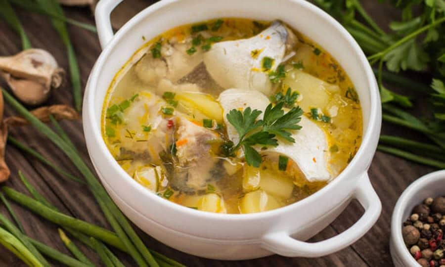 Национальная кухня Албании - Рыбный суп