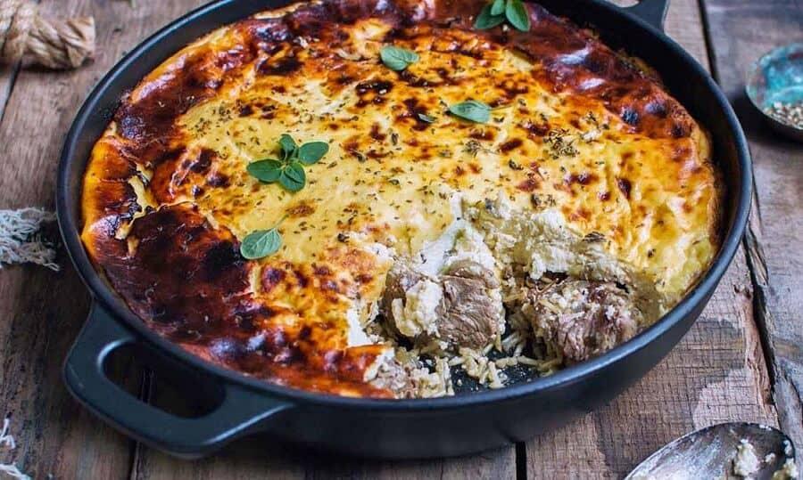 Национальная кухня Албании - Тав Коси