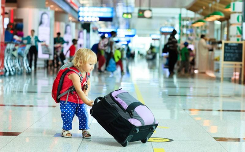 В аэропорту Борисполь создадут отдельный коридор для пассажиров с маленькими детьми