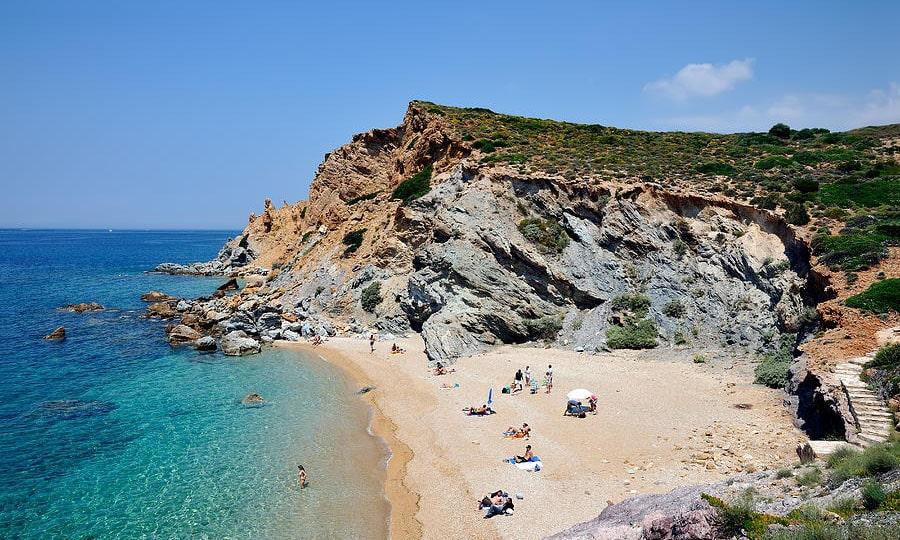 Пляж Легрена, Афинская ривьера