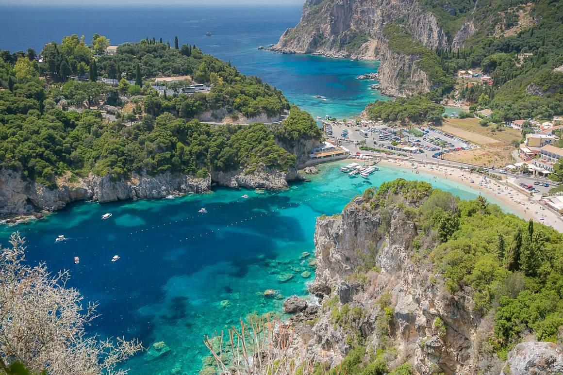 Курорты Греции - Корфу