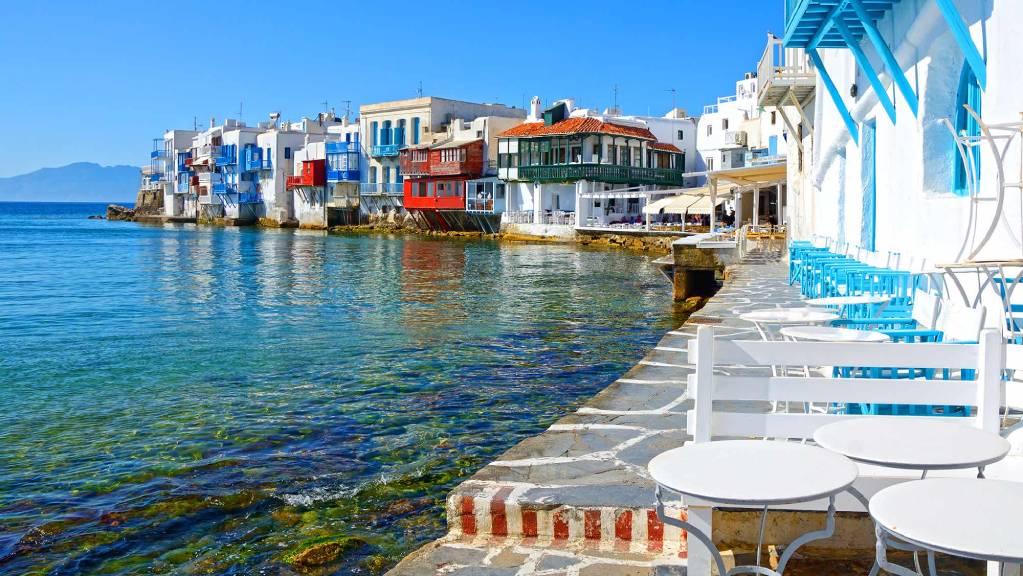 Лучшие острова Греции