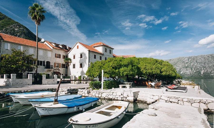 Лучшие курорты Черногории - Прчань