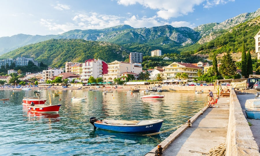 Лучшие курорты Черногории - Рафаиловичи