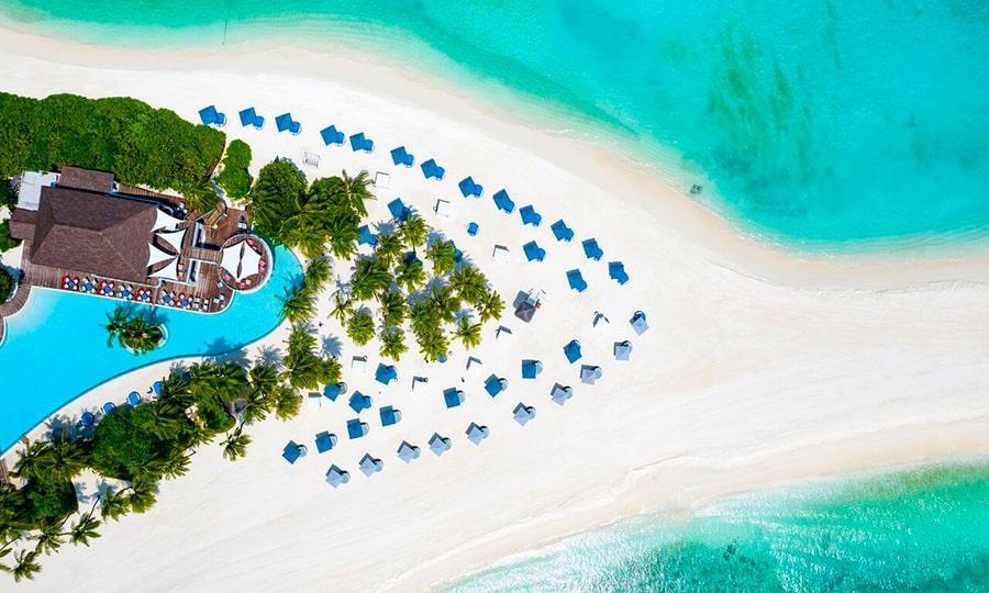 Пляжи Мальдив - Фулхаду