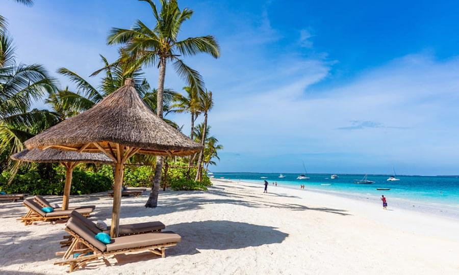 пляжи занзибара - Kendwa