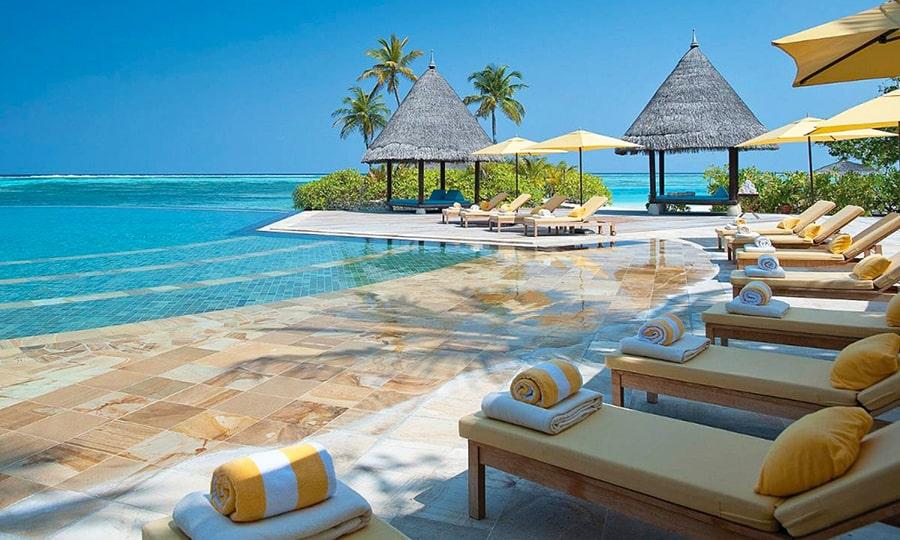 Пляжи Мальдив - Куда Хураа