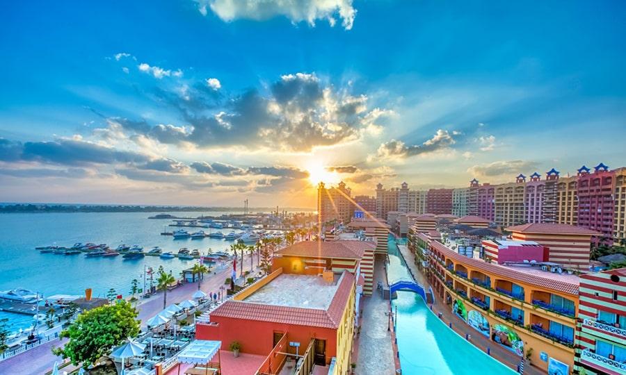 Моря Египта