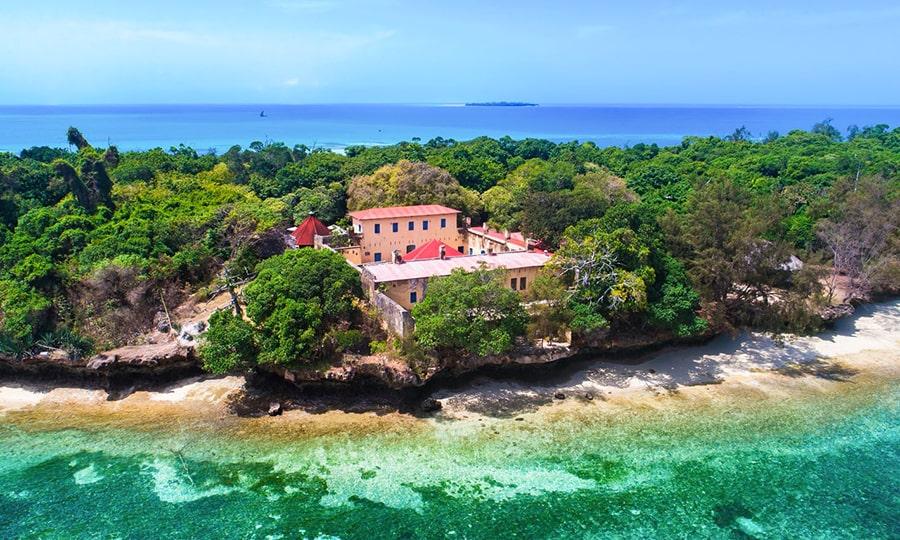 занзибар достопримечательности - Остров Prison Island