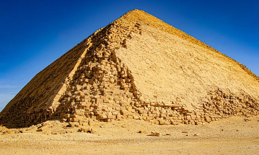 Пирамиды Египта - Пирамида Дашур