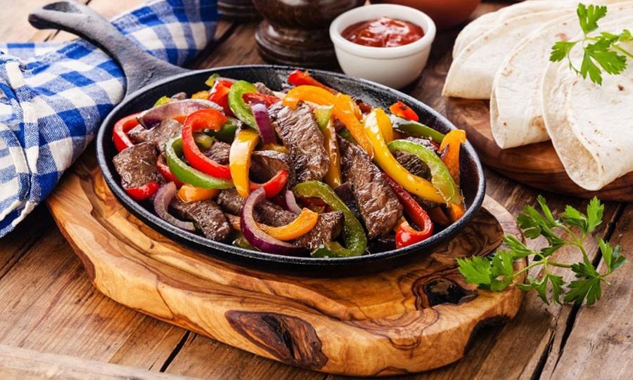 Кухня Мексики - Фахитос