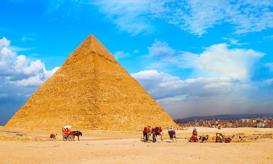 Пирамиды Египта - Пирамида Хеопса