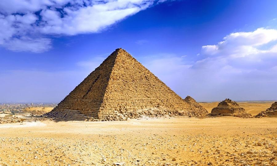 Пирамиды Египта - Пирамида Микерина