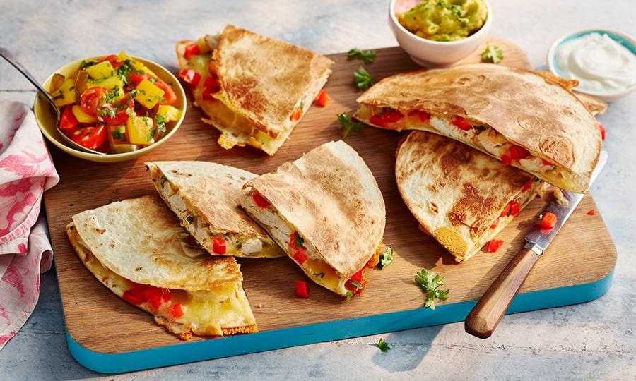 Кухня Мексики - Кесадилья