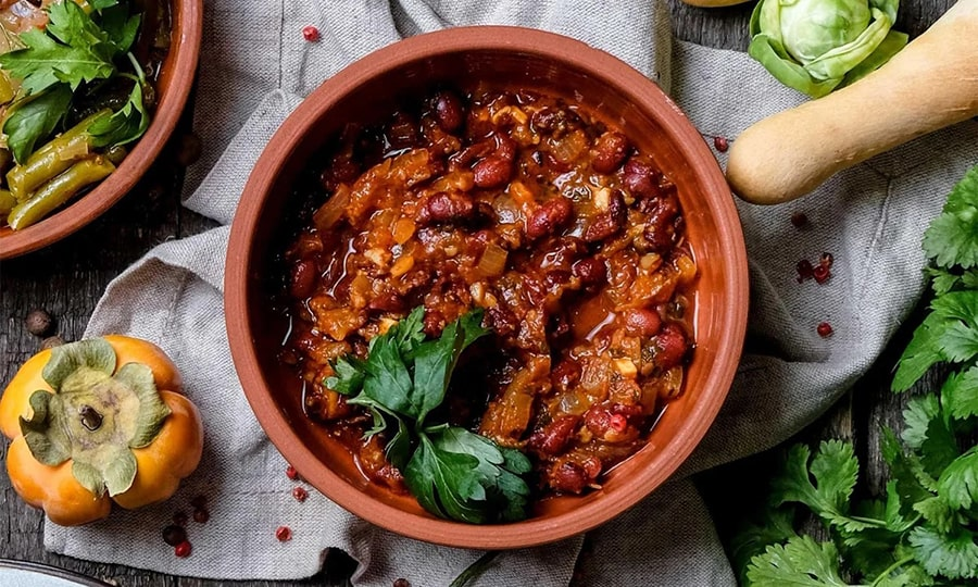 Кухня Грузии - Лобио