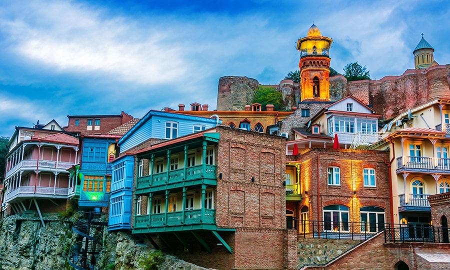 Достопримечательности Грузии - Старый город Тбилиси